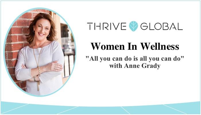 Article: Thrive Global Women in Wellness